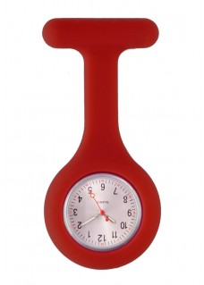 Standard Silikone Sygeplejerskeur I Bordeaux Rød