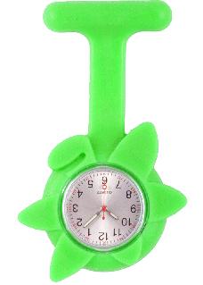Silikone Sygeplejerskeur Forårsblomst I Lime Grøn
