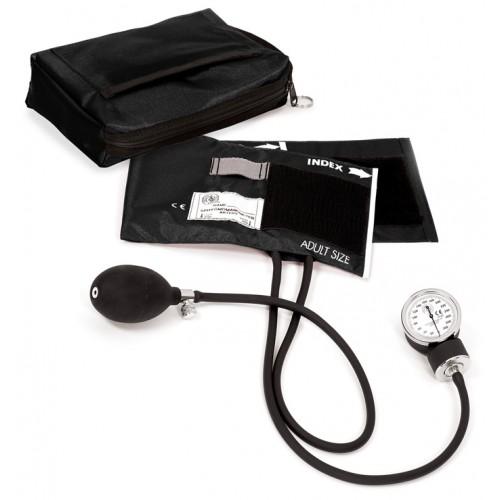 1. klasses Aneroid Blodtryksmåler med Taske Sort