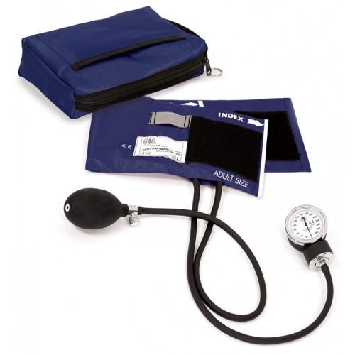 1. klasses Aneroid Blodtryksmåler med Taske Navyblå