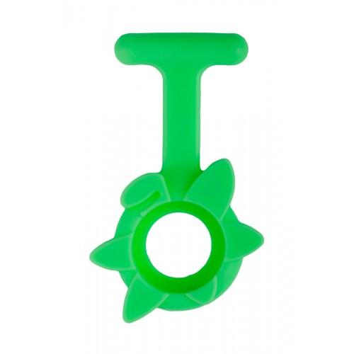 Silikone Cover Forårsblomst I Lime Grøn