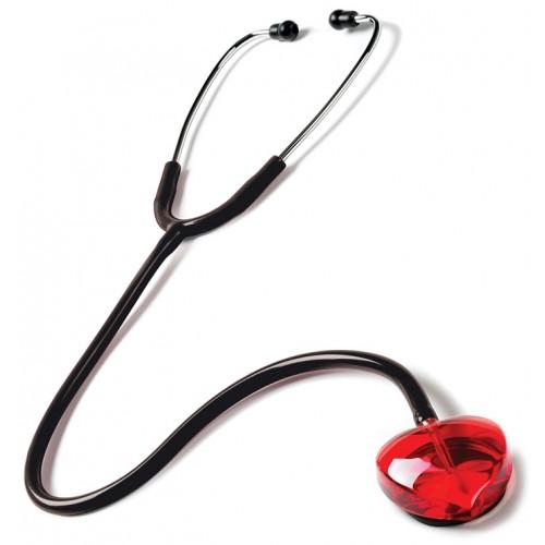 Stetoskop Clear Sound - Heart Edition Rød