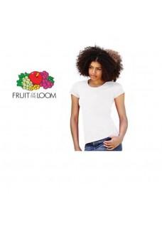 T-Shirt Dame Hvid