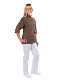 Haen sygeplejerske jakke Fadma Brun