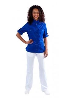 Haen sygeplejerske jakke Fadma Marine Blå