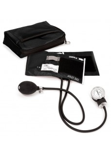 Blodtryksmåler med Etui Sort