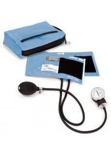 Blodtryksmåler med Taske Lyseblå