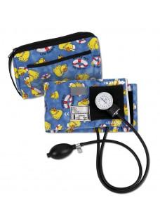 Blodtryksmåler med Taske Gul