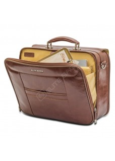 Elite Bags DOCTOR'S Leather Brown
