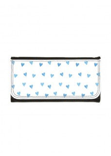Dame Skindpung Blue Hearts