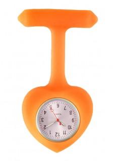 Hjerteformet Silikone Sygeplejerskeur I Orange