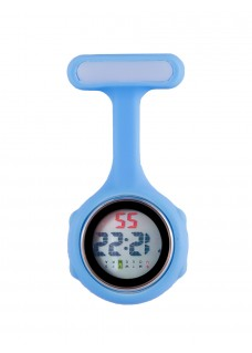 Digital Nurses Fob Watch Blue