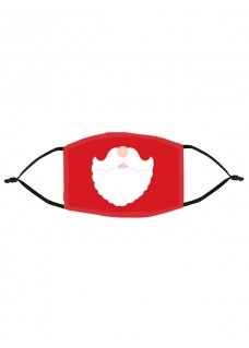 Ansigtsmaske Julemanden