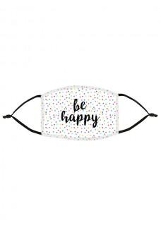 Ansigtsmaske Be Happy