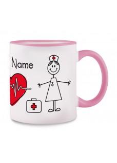 Krus Stick Nurse Lyserød