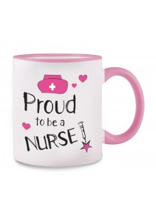 Krus Proud to be a Nurse 2 Lyserød