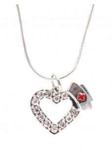 Halskæde Diamante Hjerte