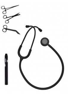 Hospitrix Instrumenter Kit Stealth Black Gratis Gravering