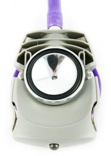 Stetoskop undersøgelseslys i grå