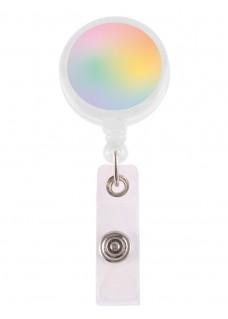 Retracteze ID Holder Pastel Rainbow