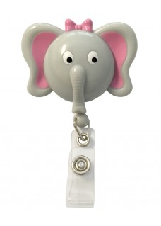 Deluxe Retracteze ID Holder Elephant
