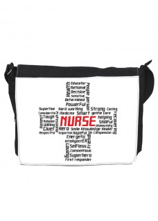 Skuldertaske Stor Cross Nurse