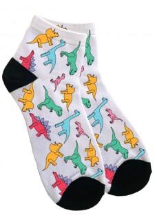 Ankelstrømper til Kvinder Little Dino's