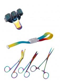 Personlige udstyr sæt Metal Rainbow