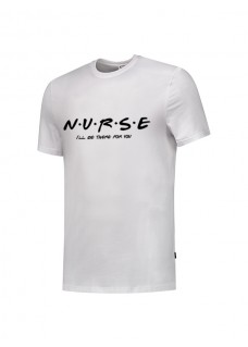 T-Shirt Nurse For You Hvid