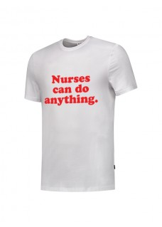 T-Shirt Nurses Can Do Anything Hvid