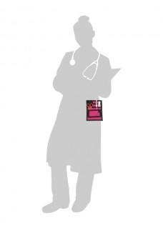 Sygepleje Organizer Sort/Lyserød + GRATIS Tilbehør