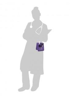 Elite Bags KEEN'S Sygepleje organiser Lilla + GRATIS tilbehør
