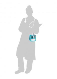Elite Bags KEEN'S Sygepleje organiser Pædiatri + GRATIS tilbehør