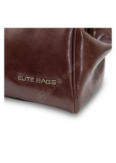 Elite Bags CLASSY'S Leather Brown