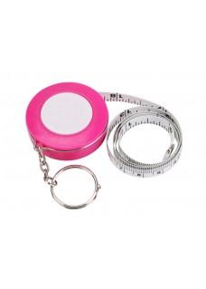 Målebånd Nøglering Pink
