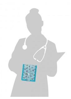 Elite Bags KEEN'S Sygepleje Organiser Symboler Grøn + GRATIS tilbehør