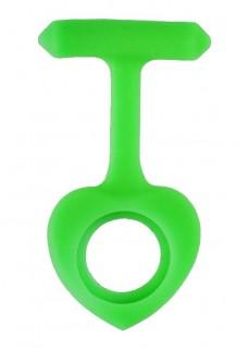 Hjerteformet Silikone Cover I Lime Grøn