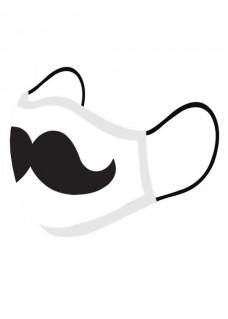 Ansigtsmaske Moustache