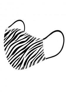 Ansigtsmaske Zebra