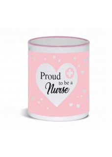 Krus Proud to be a Nurse 3 Pink
