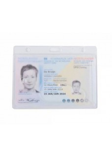 Hård Plastic Kort Holder