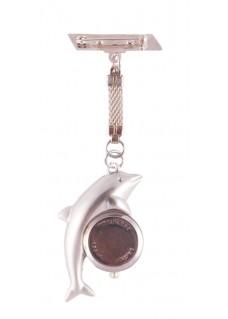 Sygeplejerskeur Delfin Sølv