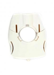 Stetoskop undersøgelseslys hvid