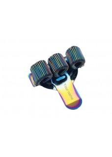 Penholder 3 (triple) Metal Rainbow
