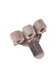 Penholder 3 (triple) Sølv
