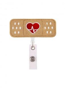Retracteze ID-Holder Band AID Hjerte