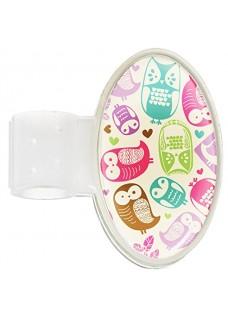 Navneskilt til stetoskop Owl Cream