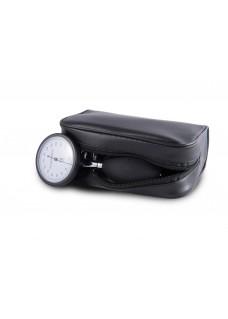 Blodtryksmåler Aneroid Énhåndsbetjening med Taske Sort