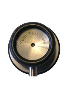 To-Hovedet Stetoskop Sort