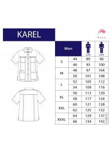 Haen Herre sygeplejerske jakke Karel